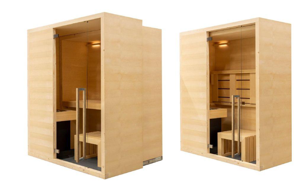 Cabina sauna Family estensibile