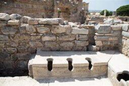 WC comune a Knosso