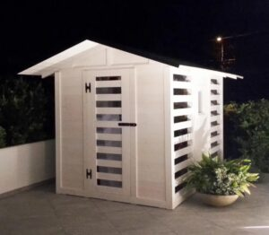 Casetta benessere con sauna da esterno Igan Style