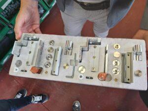 Kit di montaggio Box doccia