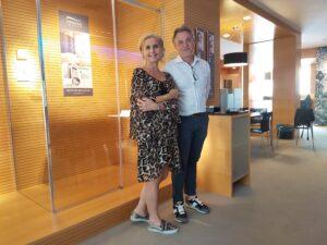 Manuela Morotti con Alessandro Zanini di Provex