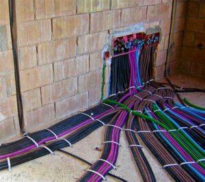Canalizzazioni per impianto elettrico civile Formazione professionale per elettricisti